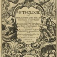 Natale Conti, <em>Mythologia</em>, 1567-1627<em><br /></em>